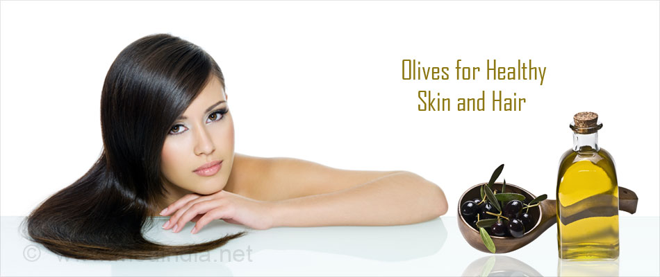 Olives for Healthy Skin and Hair