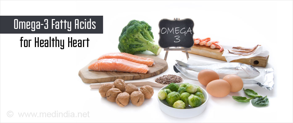 Omega-3 Fatty acids for Healthy Heart