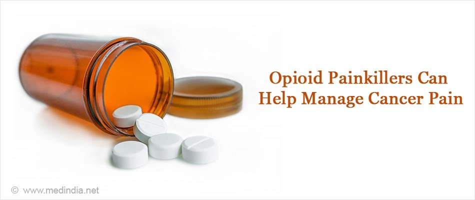 Opioid Painkillers Helps Manage Cancer Pain