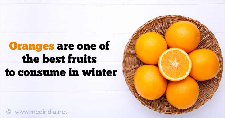 Oranges are One of the Best Fruits to Consume in Winter