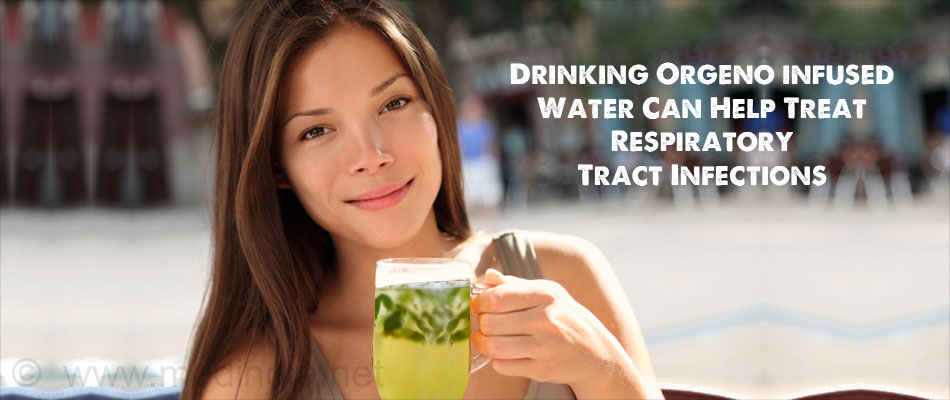 Drinking Orgeno Water Can Help Treat Respiratory Tract Infections