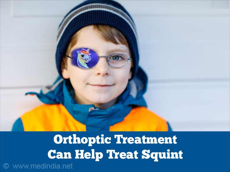 Orthoptic Treatment Can Help Treat Squint