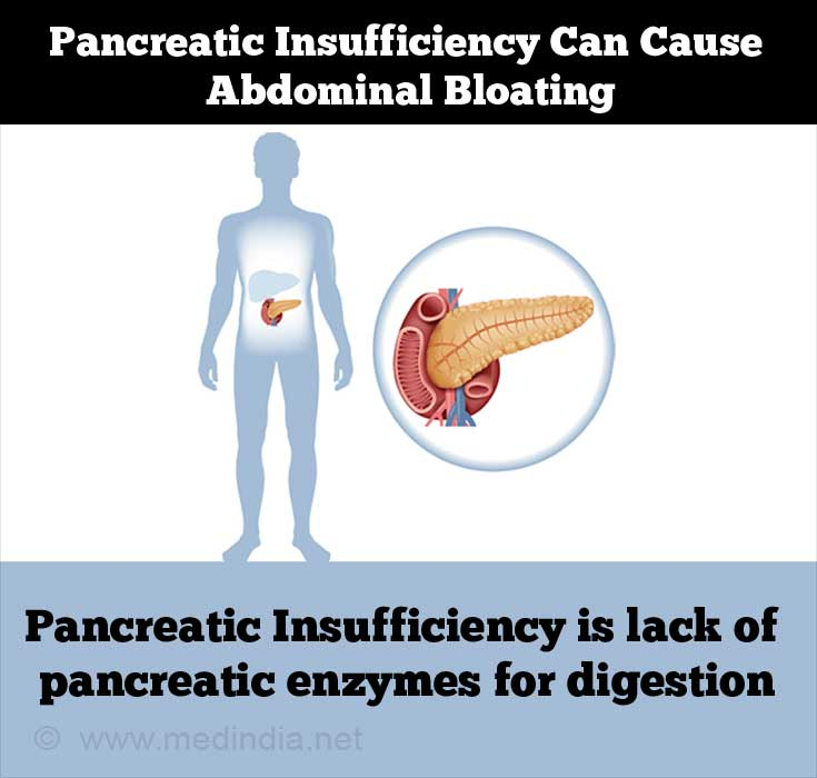 Pancreatic Insufficiency Can Causes Abdominal 