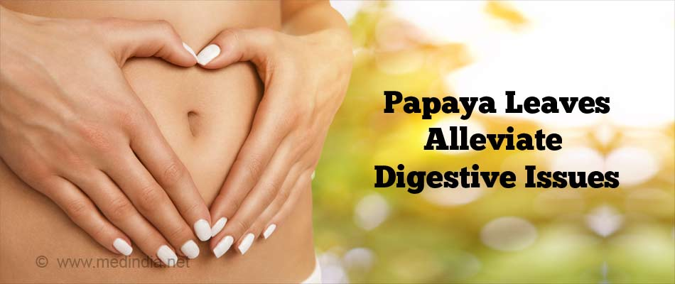 Papaya Leaves for Digestive Problems