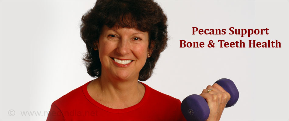 Pecans Supports Bone & Teeth Health