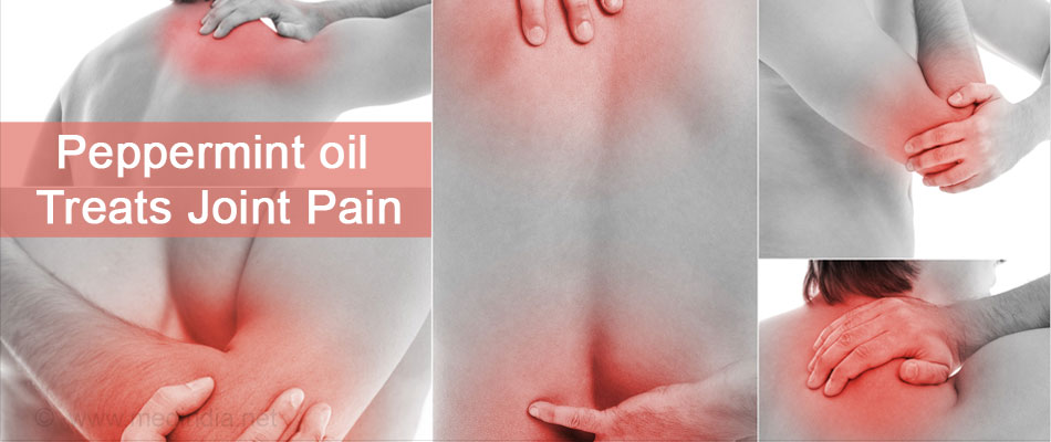 Peppermint Oil Helps Relieve Pain