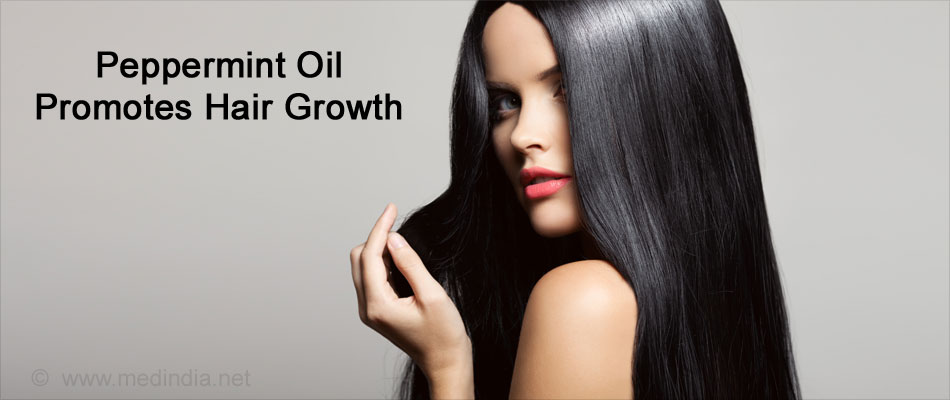 Peppermint Oil Promotes Hair Growth