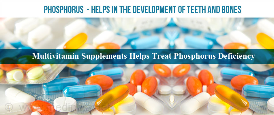 Multivitamin Supplements Helps Treat Phosphorus Deficiency
