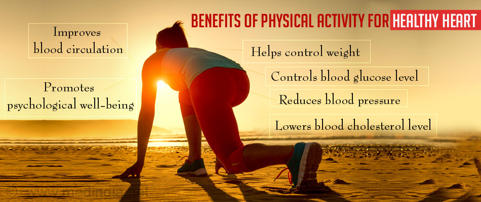 Benefits of Physical Activity for Healthy Heart