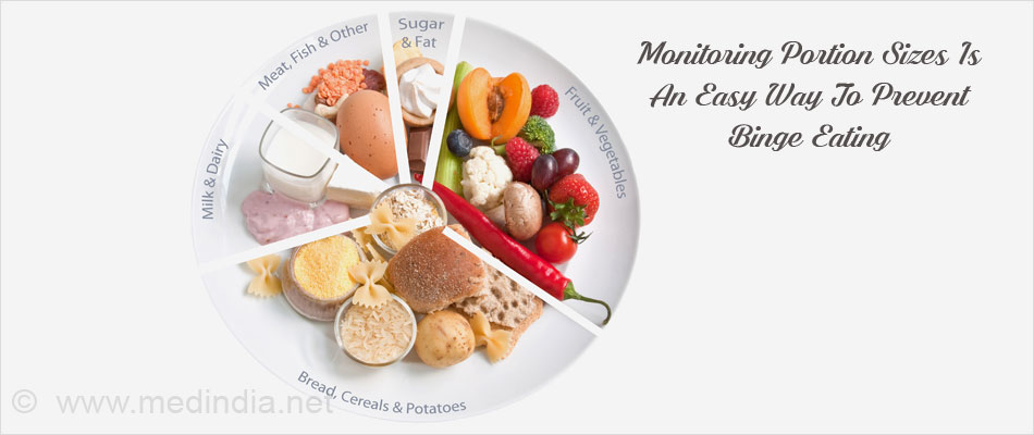 Monitoring Portion Sizes Is An Easy Way To Prevent Binge Eating