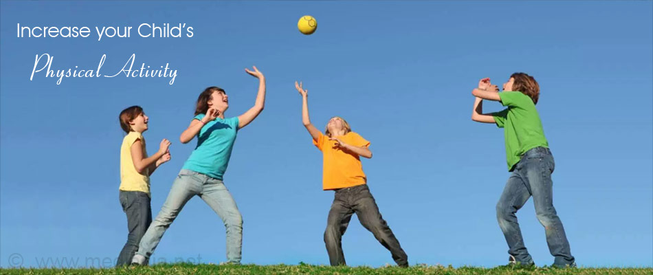 Increase your Child Physical Activity