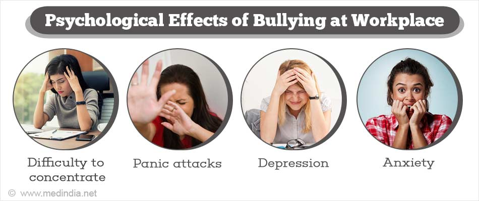 the psychological effects of bullying The psychological effects of being bullied don't necessarily stop when the  bullying does that's the conclusion of a newly released study.