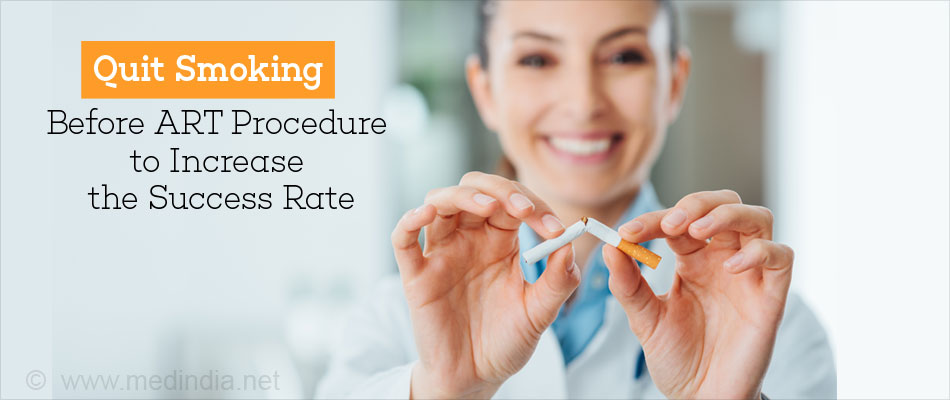 Quit Smoking Before ART Procedure to Increase the Success Rate