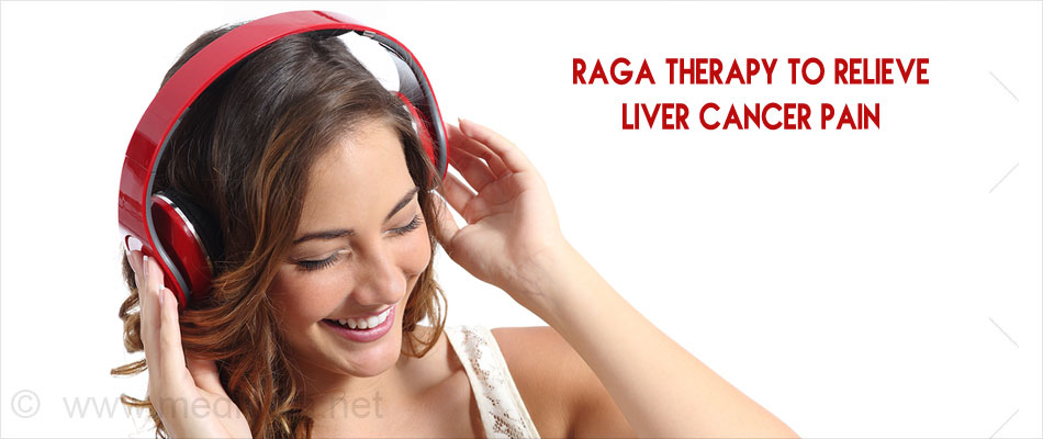Raga Therapy to Relieve Liver Cancer Pain