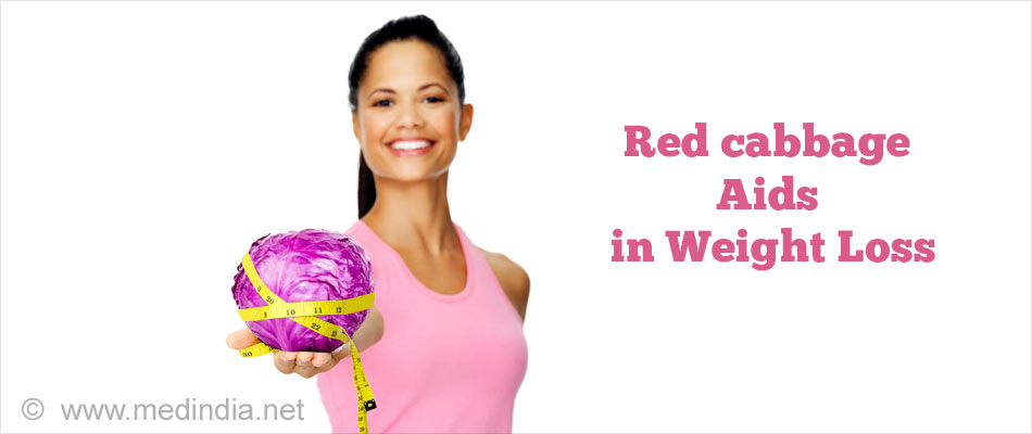 Red cabbage Aid in Weight Loss