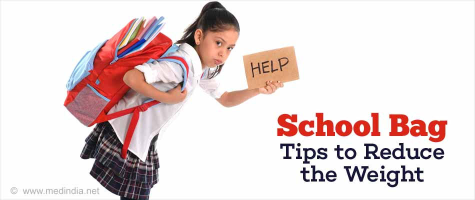 How to Reduce School Bag Weight - Simple Tips