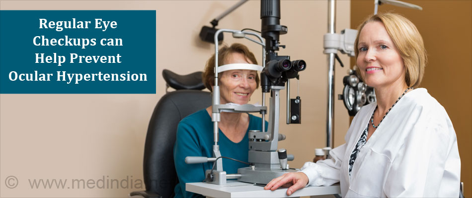 Regular Eye Checkup Treats Ocular Hypertension