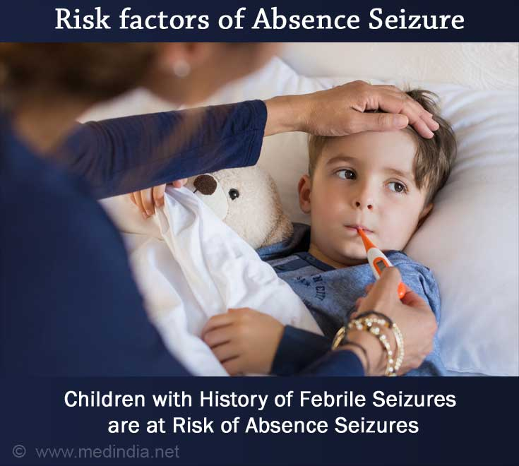 Children with History of Febrile Seizures are at Risk of Absence Seizures