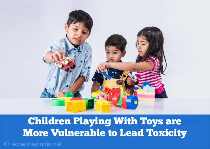 Childrens Exposed to Dangerous Levels Of Lead from Toys