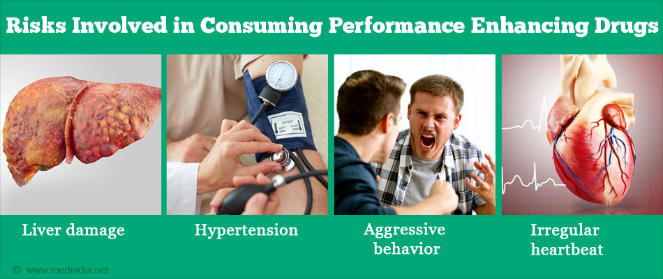 Risks Involved in Consuming Performance Enhancing Drugs
