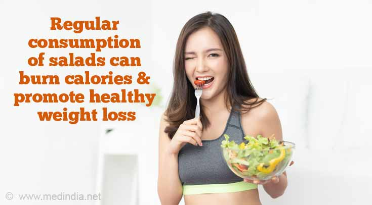 Health Benefits of Salads: Weight Loss
