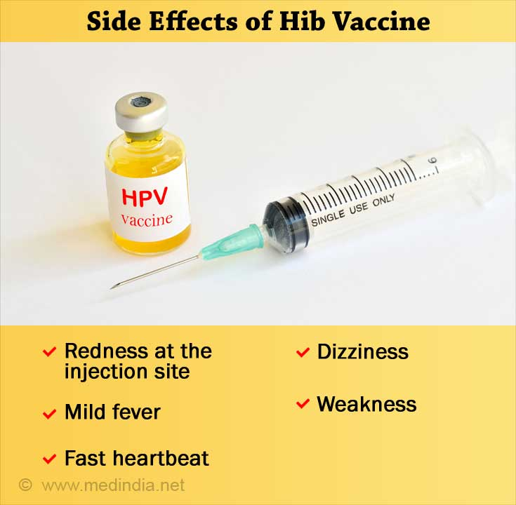 Side Effects of Hib Vaccine