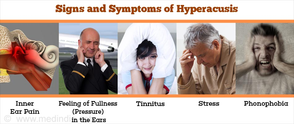 Signs and Symptoms of Hyperacusis