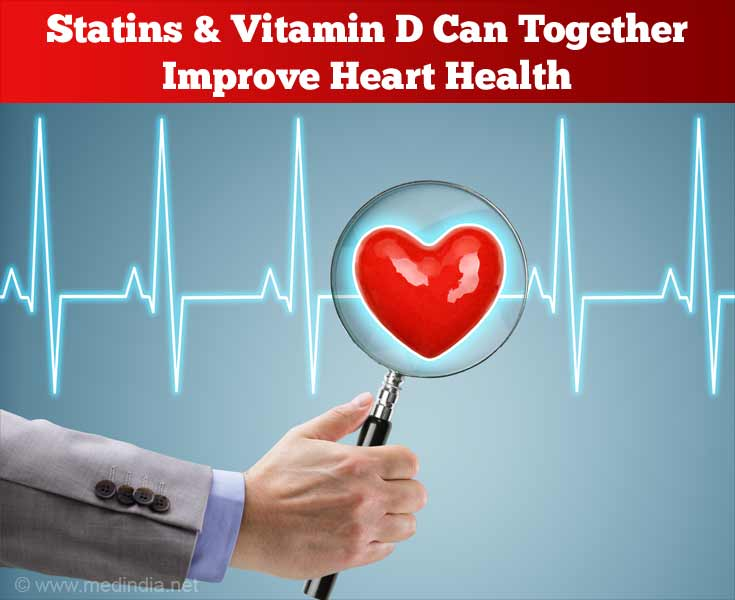 Statins & Vitamin D Can Together Improve Heart Health