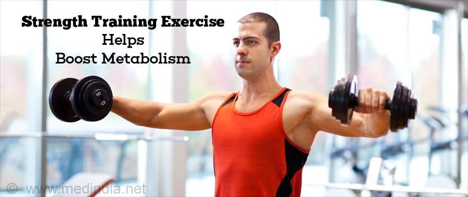Strength Training Exercise Helps Boost Metabolism