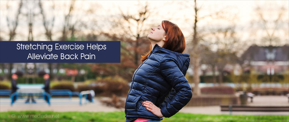 Stretching Exercise Helps Alleviate Back Pain