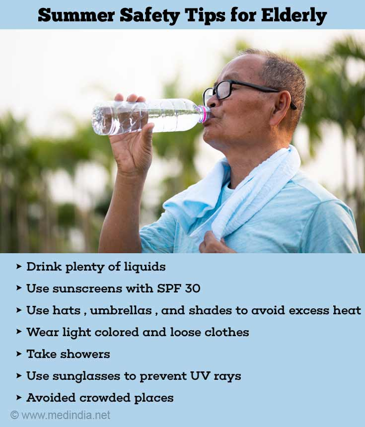 Summer Preventive Tips for Elderly