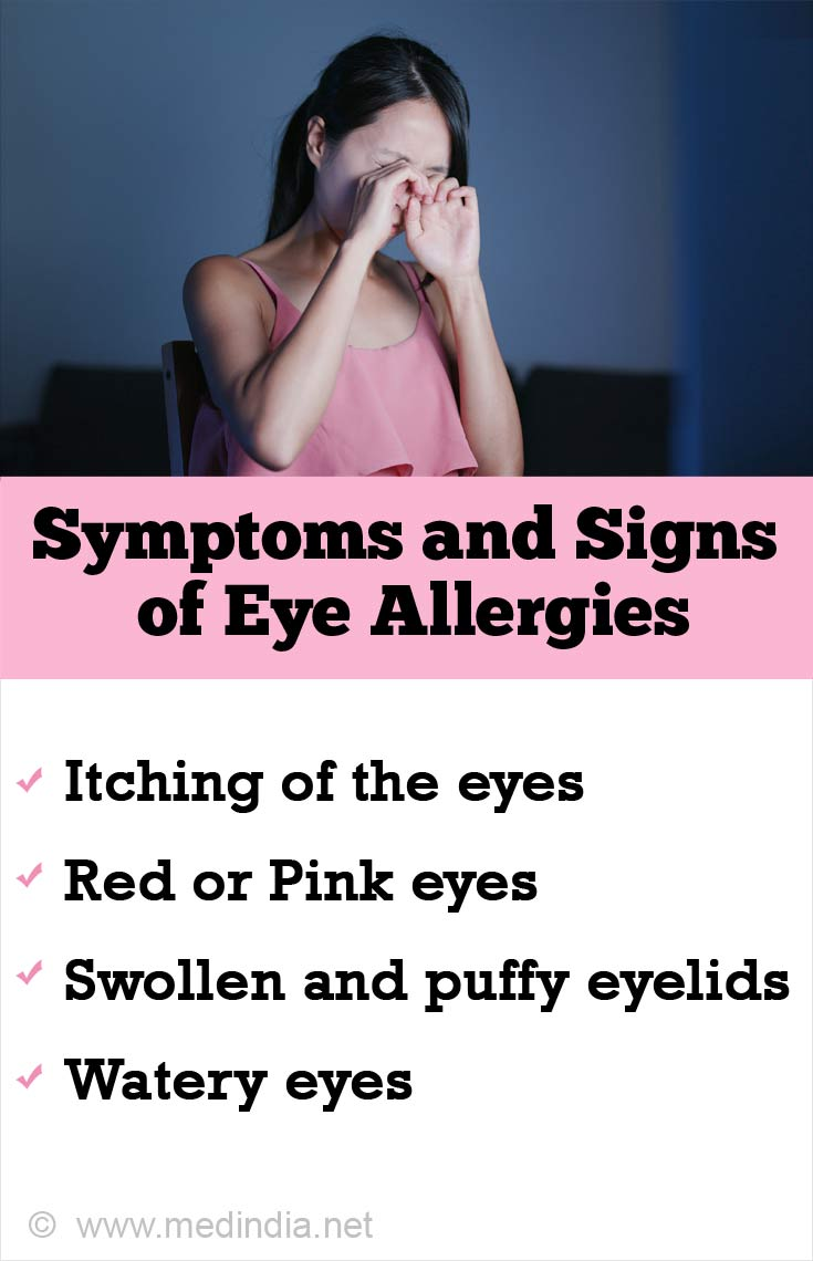 Symptoms and Signs of Eye Allergies
