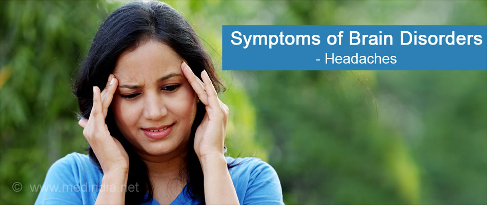 Symptoms of Brain (Headache)