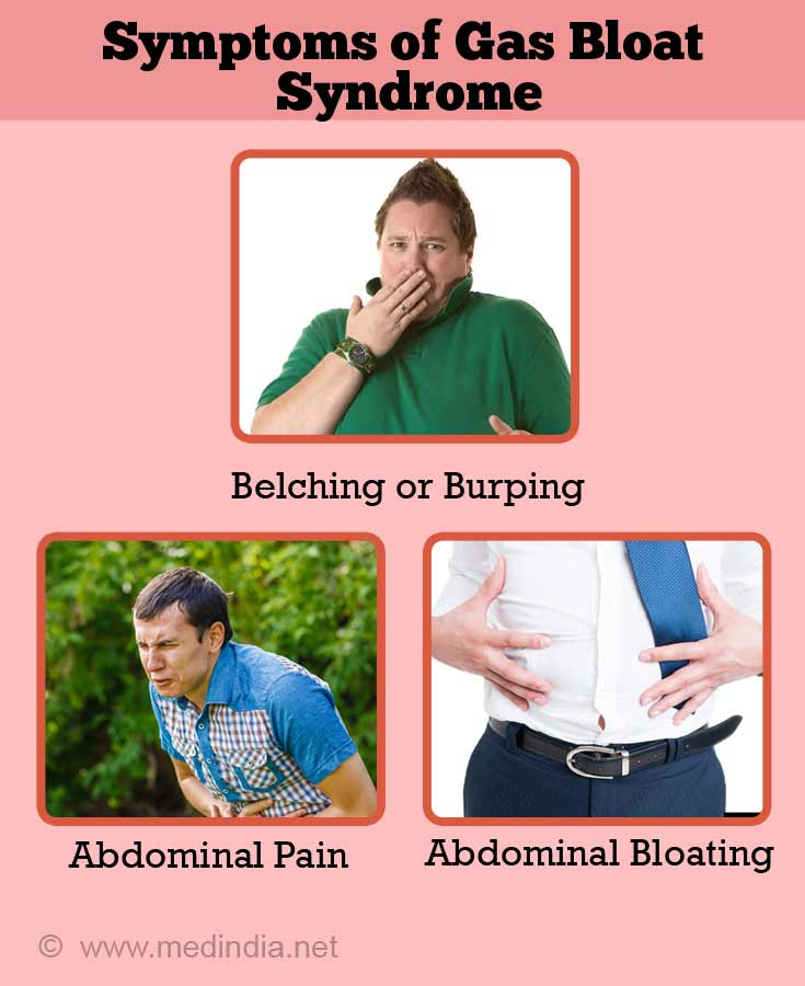Symptoms of Gas Bloat Syndrome