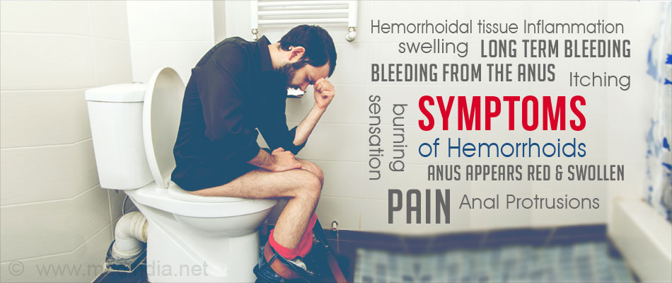 Symptoms of Hemorrhoids