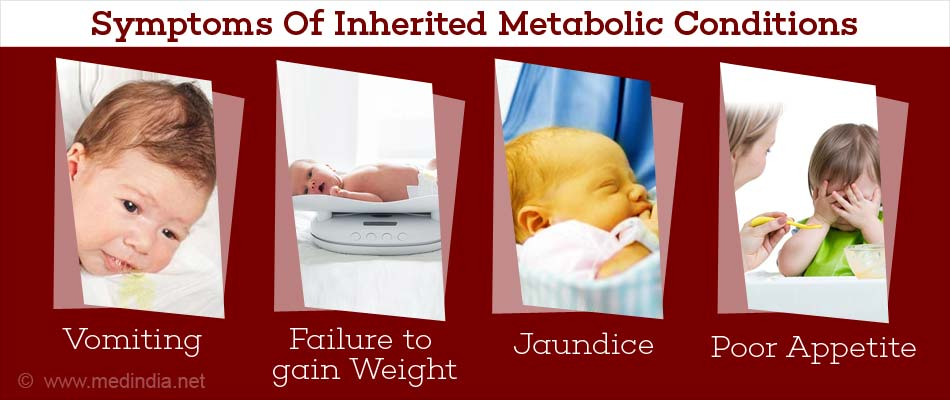 Symptoms of Inherited Metabolic Conditions