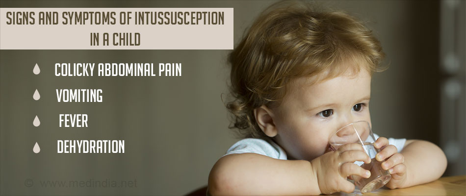 Symptoms and Signs of Intussusception in a Child - Dehydration