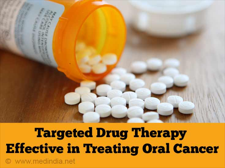 Targeted Drug Therapy Effective in Treating Oral Cancer