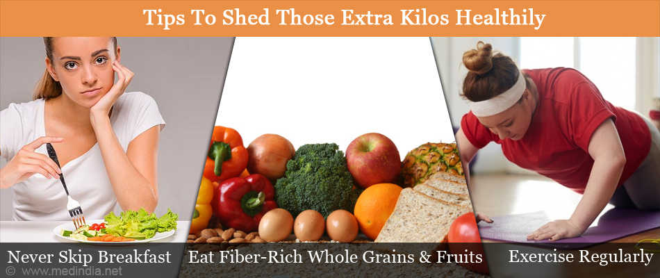 Tips To Shed Those Extra Kilos Healthily