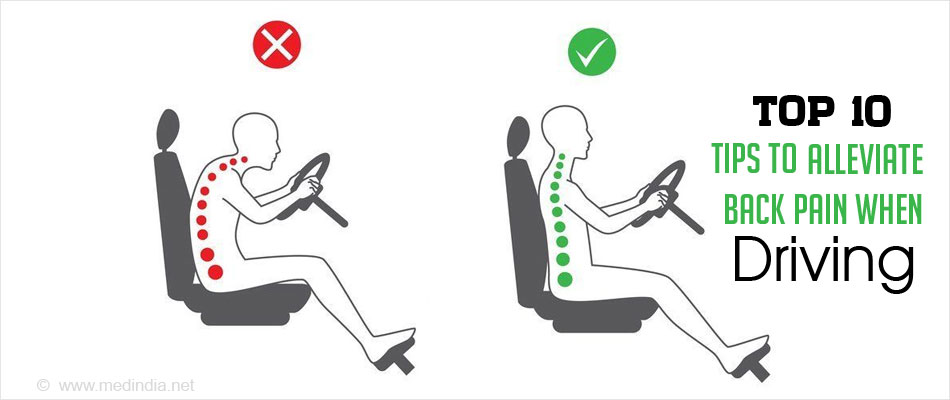 Tips to Alleviate Back Pain When Driving