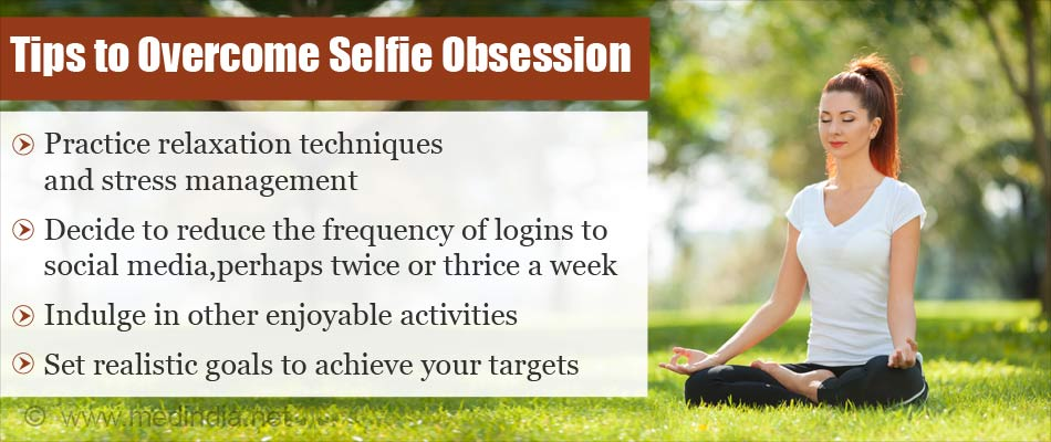 Tips to Overcome Selfie Obsession