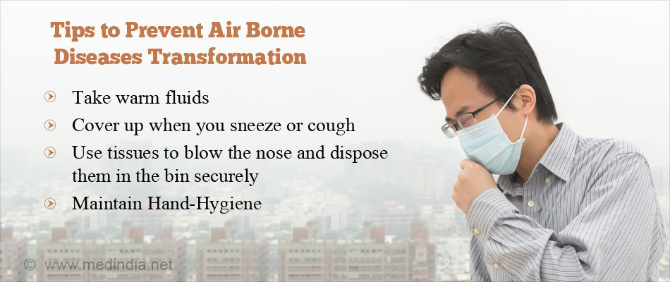Tips to Prevent Air Borne Diseases Transformation