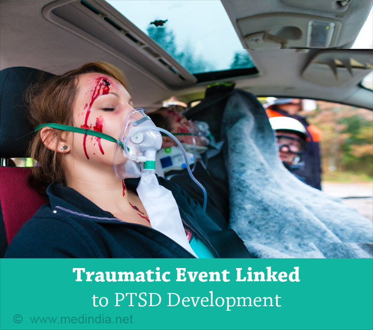 Traumatic Event Linked to PTSD Development