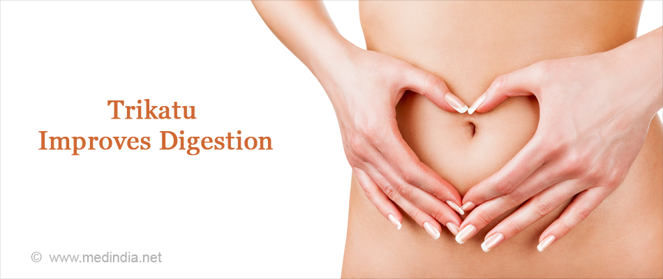 Trikatu Improves Digestion