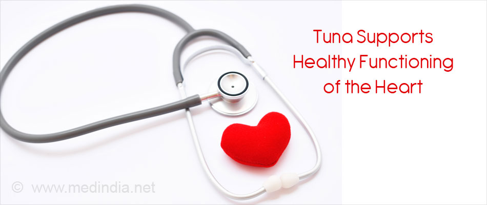 Tuna Supports Healthy Functioning of the Heart