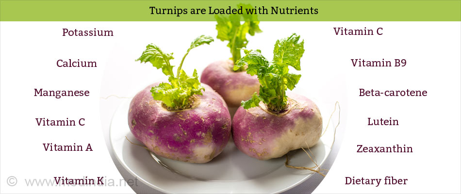 Turnips are Loaded with Nutrients