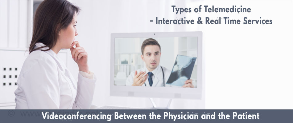 Types of Telemedicine - Interactive And Real Time Services