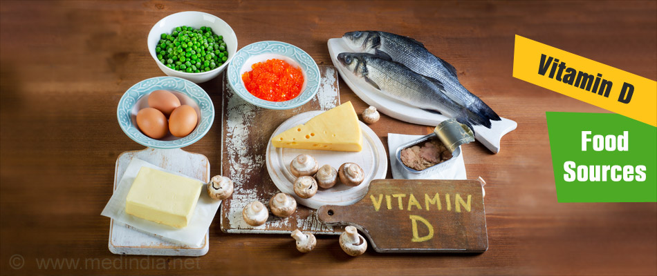 Vitamin D Food Sources