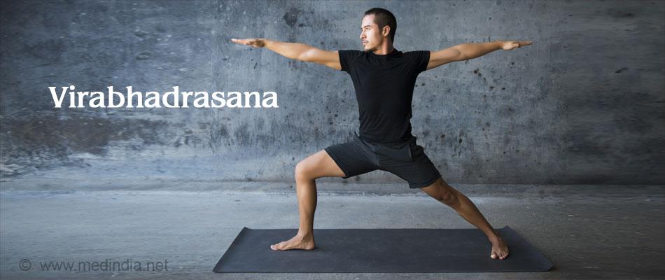 Virabhadrasana Helps Ease Heartburn