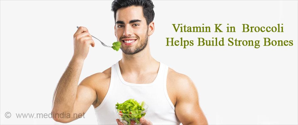 Vitamin K in Broccoli Helps Build Strong Bones